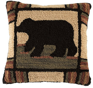 Adironack Hooked Pillow by Park Designs - DL Country Barn