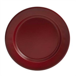 Linville Red Enamel Salad Plate - Set of 4