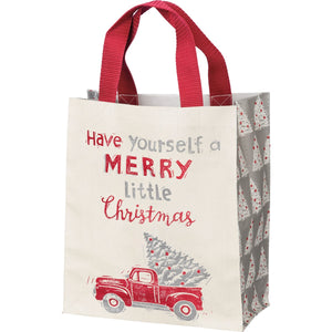 Merry Little Christmas Daily Tote