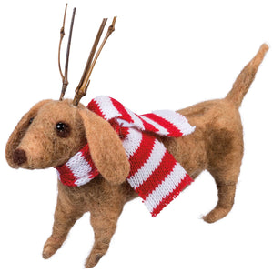 Dachshund with Antlers