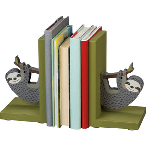 Sloth Bookends