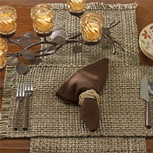 Tweed Espresso Placemat by Park Designs