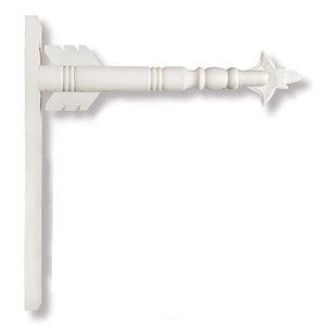 Arrow Hanger - White