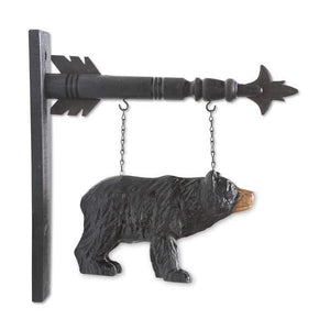 Black Bear Arrow Replacement Sign by K&K Interiors