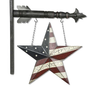 Americana Star Arrow Replacement Sign by K&K Interiors