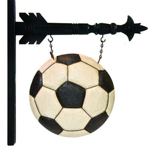 Soccer Ball Arrow Replacement Sign