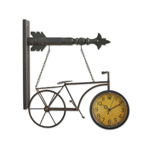 Metal Bicycle Clock Arrow Replacement Sign - SPECIAL ORDER