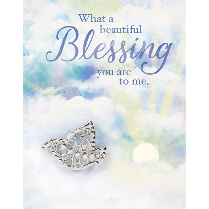"""Blessing"" Brooch Greeting Card"
