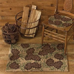 Walk in the Woods Hooked Rug 24x36