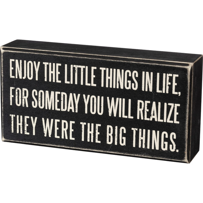 Sign - Enjoy The Little Things