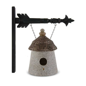 Stone Yurt Birdhouse Arrow Replacement Sign
