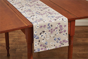 Lilac Cottage Table Runner