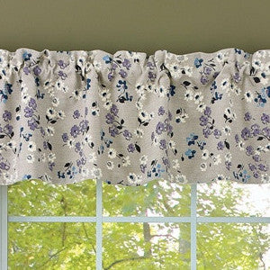 Lilac Cottage Lined Valance