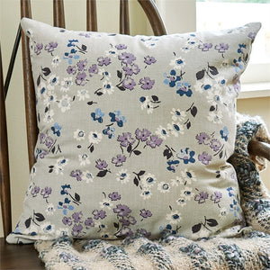 Lilac Cottage Pillow 20 inch | Decorative Pillow