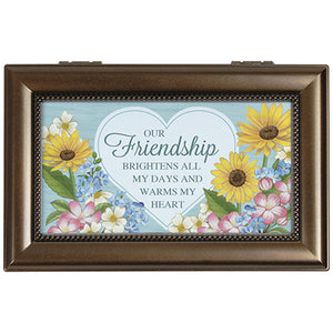 """Friendship Heart"" Music Box"