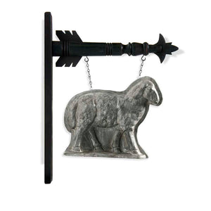 Silver Sheep Arrow Replacement Sign