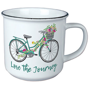 """Bicycle"" Vintage Mug"