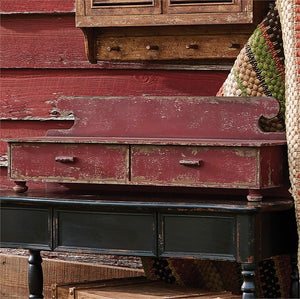 Counter Shelf - Aged Red by Park Designs - DL Country Barn