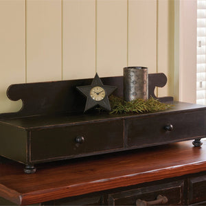 Counter Shelf - Aged Black by Park Designs - DL Country Barn