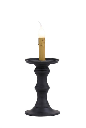 "Black 7.5"" Candlestick Lamp"