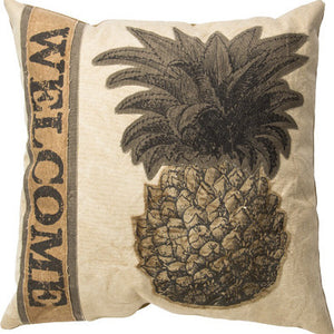Welcome Pillow - Pineapple