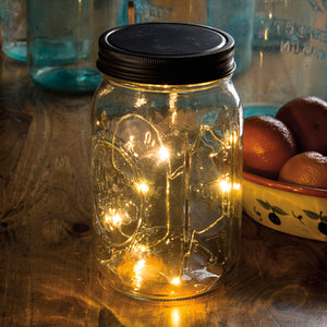 Mason Jar Micro Lighted Lid