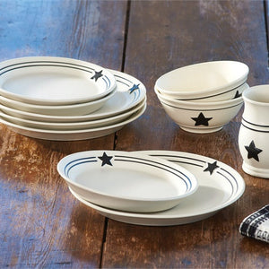 Country Star Dinner Plates by Park Designs | Country Star Dinnerware Collection & Country Star Dinnerware Collection by Park Designs | Farmhouse Style ...