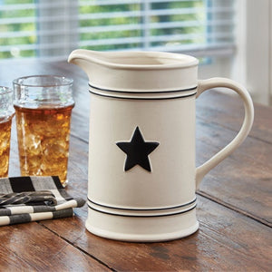 Country Star Pitcher by Park Designs - Country Star Dinnerware Collection