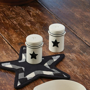 Country Star Salt & Pepper Set | Country Star Dinnerware Collection by Park Designs