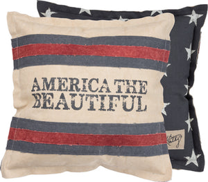 America Beautiful Pillow