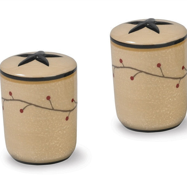 Star Vine Salt and Pepper Set - ADD ON ITEM