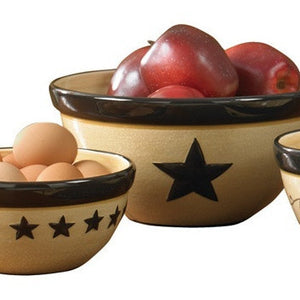 Star Vine Mixing Bowl Set by Park Designs | Star Vine Dinnerware Collection