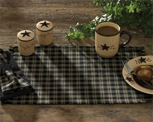 Cambridge Black & Tan Plaid Placemat (Set of 6)