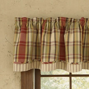 Heartfelt Lined Layer Valance