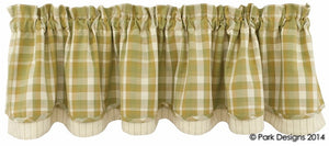 Thatcher Lined Layered Valance
