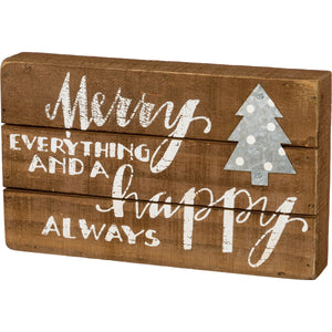 Sign - Merry Everything