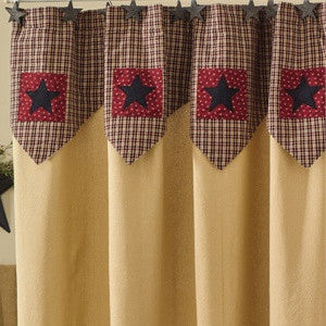 My Country Home Shower Curtain Country Primitive Shower