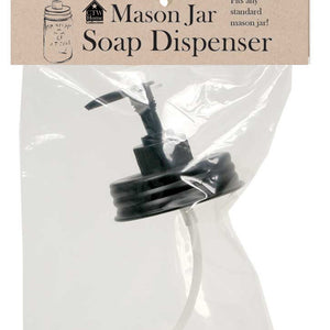 Mason Jar Soap Dispenser Lid - Standard Size | Country Primitive Mason Jar Lid