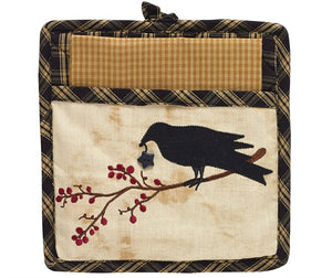 Crow Potholder