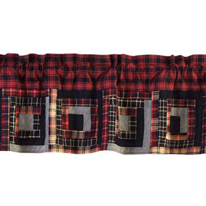 Cumberland Patchwork Valance (Choose Size)
