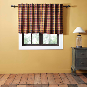 Heritage Farms Primitive Check Tier Curtains