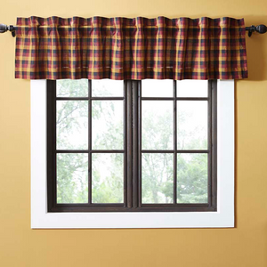 Heritage Farms Primitive Check Valance