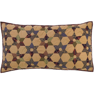 Tea Star Pillow Sham King