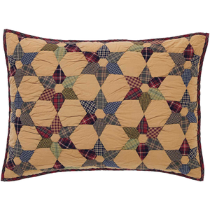 Tea Star Pillow Sham