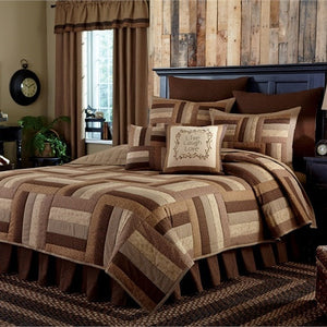 Shades of Brown Quilted Bedding Collection by Park Designs