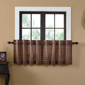 Crosswoods Tier Curtains (Choose Size)