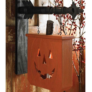 Pumpkin with Candle Holder Arrow Replacement Sign by K&K Interiors