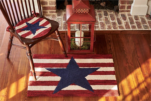 American Star Hooked Rug 24x36