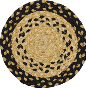 "8"" Cotton Braided Trivet - Cornbread"