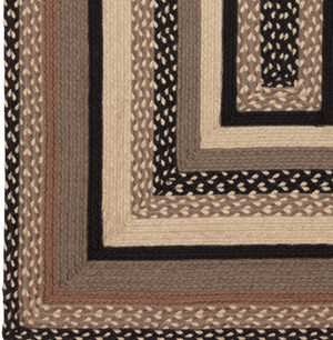 Sawyer Mill Charcoal Jute Braided Rug